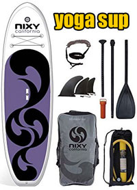 Nixy Yoga Inflatable Paddleboard Package