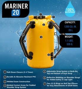 Mariner 20 Dry Backpack
