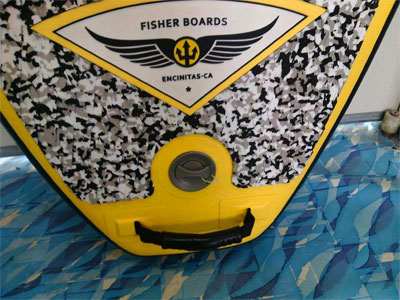 Fisher SUP Deck Pad
