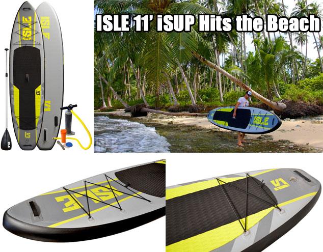 Isle iSUP Hits the Beach