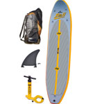 Solstice Inflatable SUP with Pump, Fin, Backpack