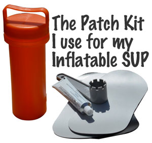 Inflatable SUP Patch Kits & How to Fix a Leak