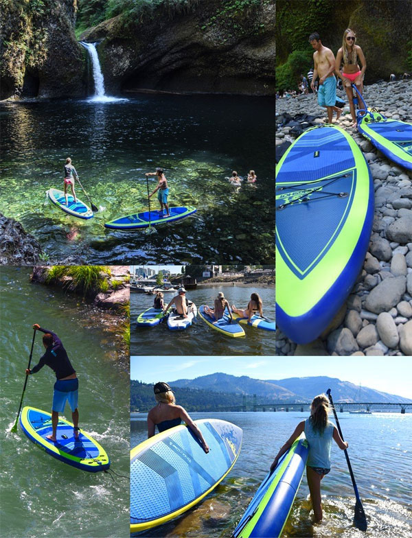 5 reasons why the slingshot inflatable sup can do it all for Inflatable fishing paddle board