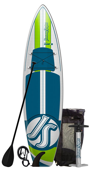 Jimmy Styks Puffer Inflatable SUP Package with Air Pump and Paddle