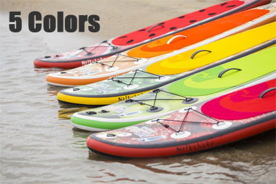 5 Color Options for the Milkshake Inflatable SUP for Kids