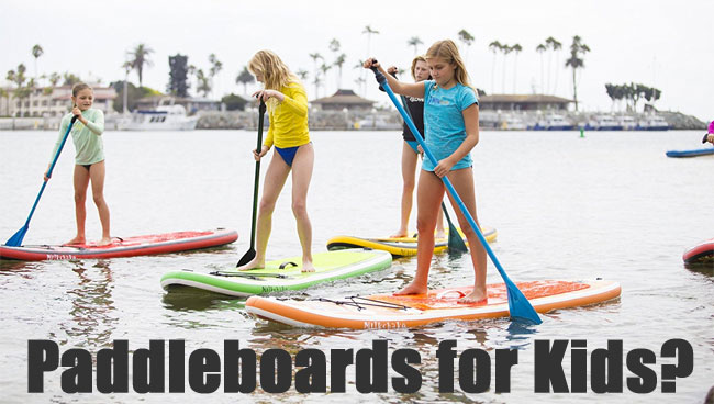 Inflatable Stand Up Paddleboards for Kids from Xterra