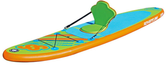Sportsstuff Inflatable SUP with Detachable Kayak Seat