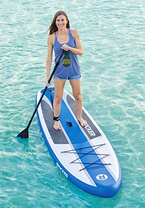 iRocker Inflatable SUP on the Water