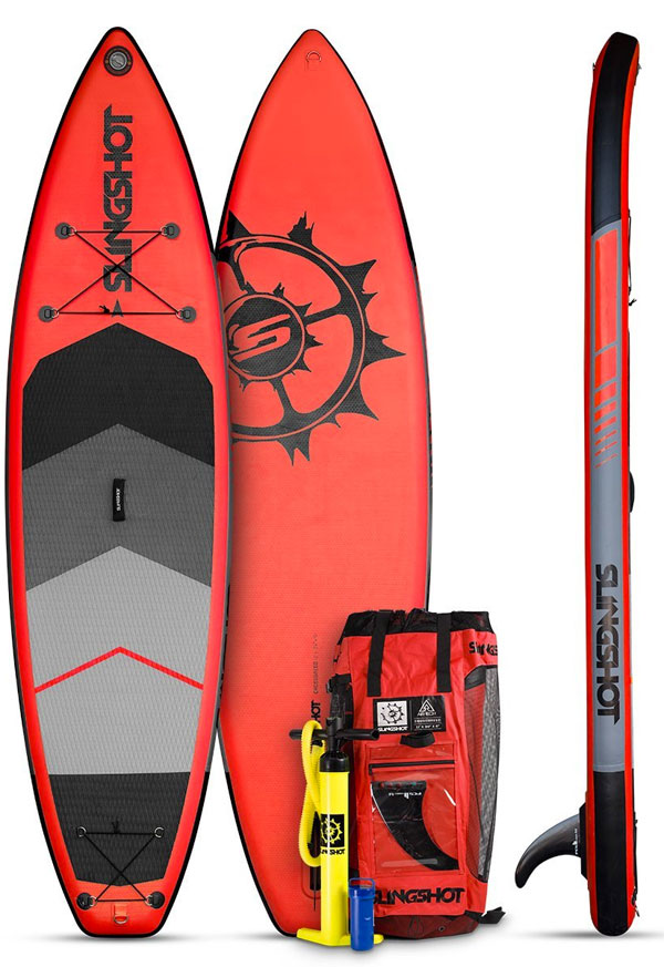 Slingshot Crossbreed Inflatable paddle Board Package