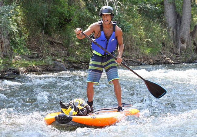 Airhead Rapidz Inflatable Whitewater SUP