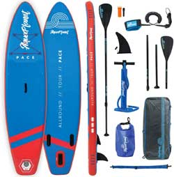 Aquaplanet Inflatable SUP with Accessories
