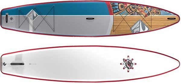 SHUBU Paddlboard Design - Top and Bottom